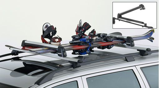 V60 Roof Rack & Ski Carrier Bundle